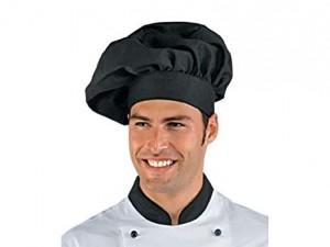 Cappello Chef Nero Personalizzato