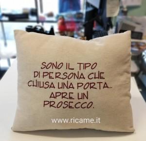 Cuscino Prosecco
