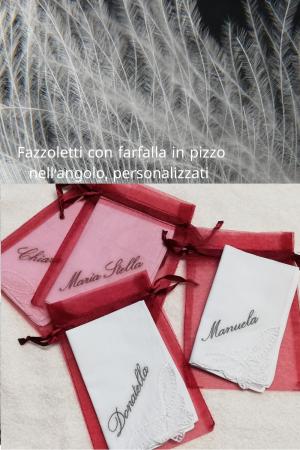 Fazzoletto Farfalla Personalizzato