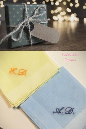Fazzoletto Perla Colorato personalizzato