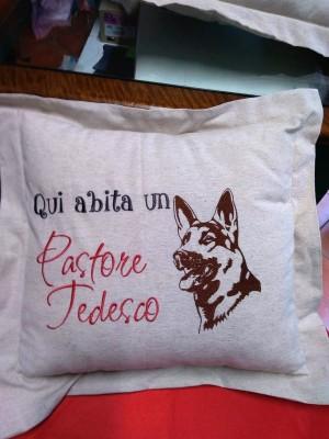 Cuscino Pastore Tedesco