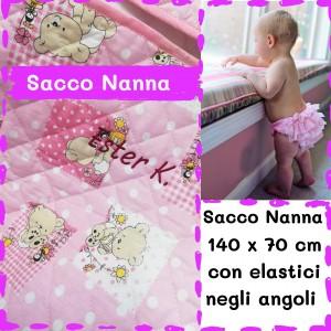 Sacco Nanna DOPPIO Orsetti Rosa