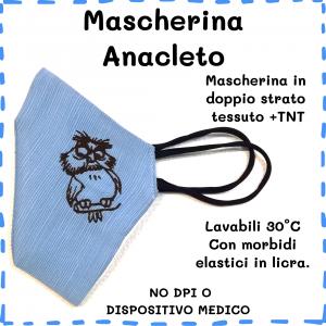 Mascherina Anacleto