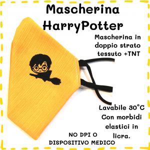 Mascherina Harry Potter