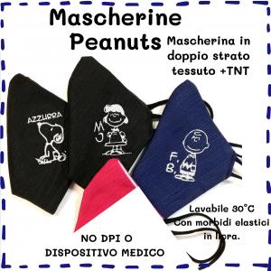 Mascherine Peanuts