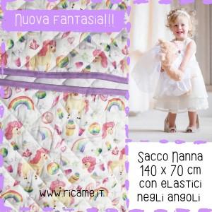 Sacco Nanna DOPPIO  Unicorni