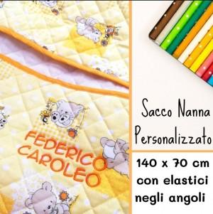 Sacco Nanna DOPPIO Orsetti giallo