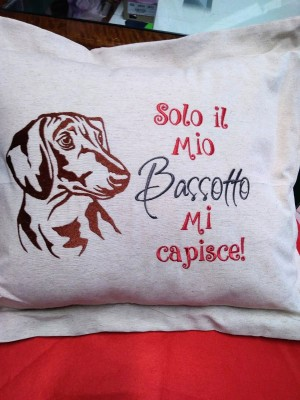 Cuscino bassotto