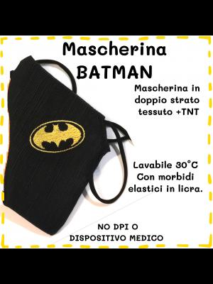 Mascherina Batman