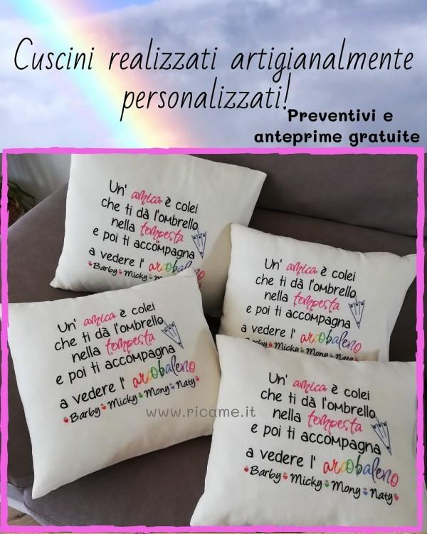 Cuscino Arcobaleno Friend