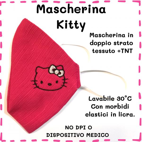 Mascherina Kitty