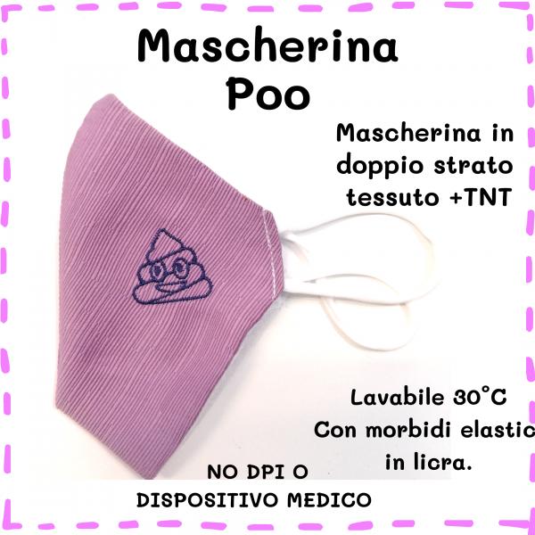 Mascherina Poo